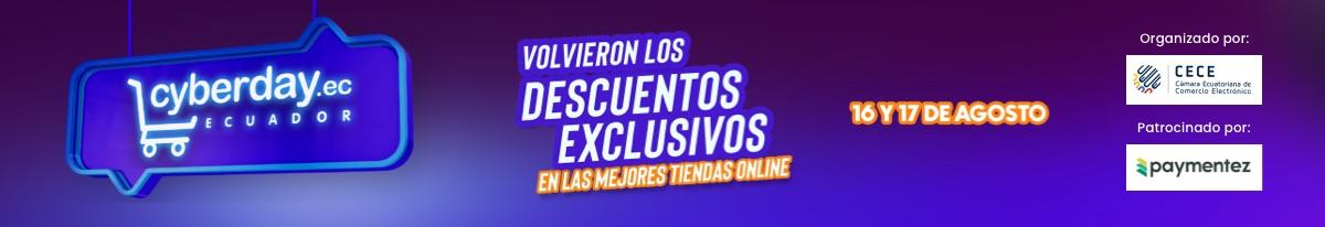 Cyberday Ecuador agosto 2021